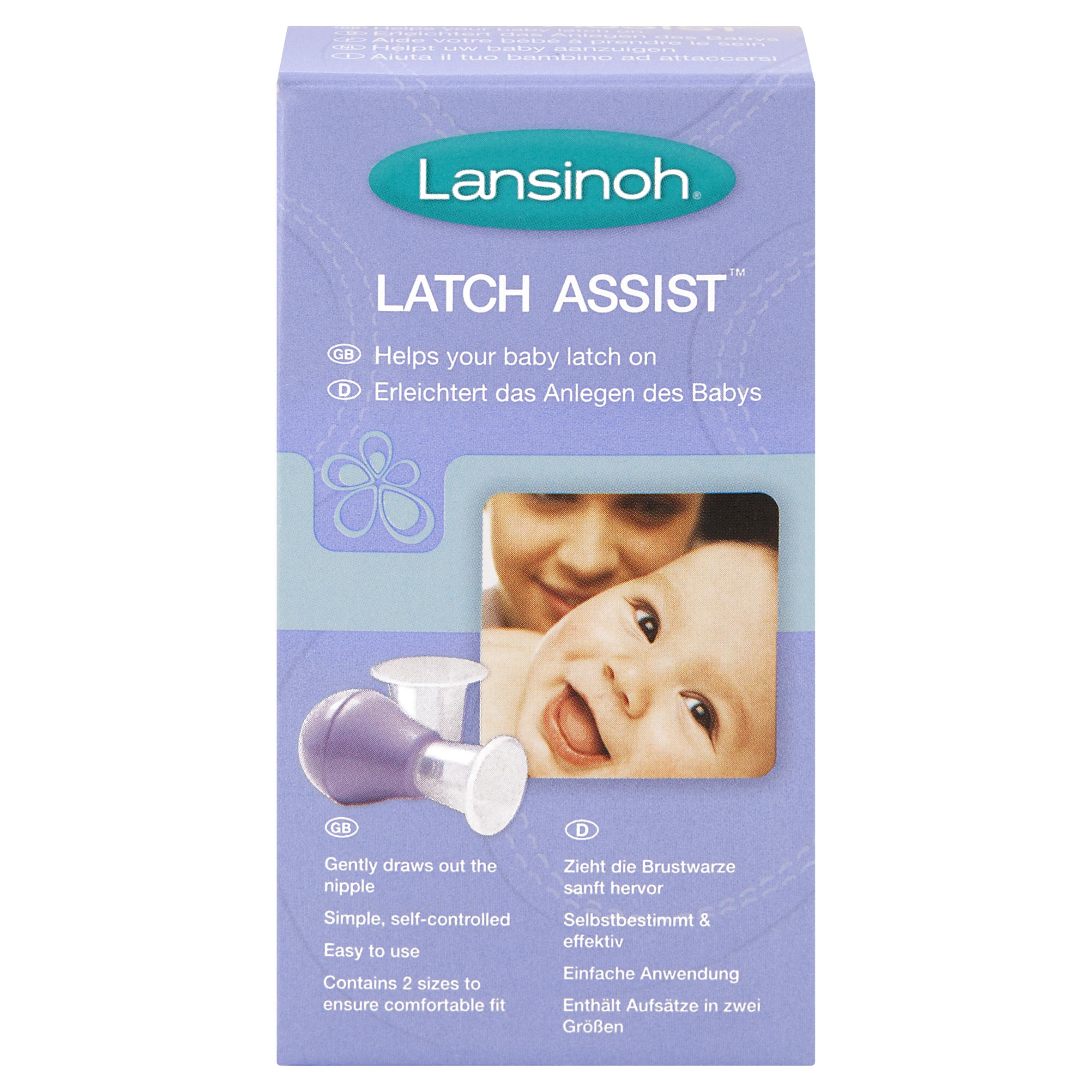 Lansinoh® Latch Assist™ Nipple Everter 2 Sizes